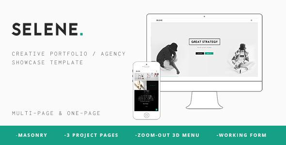 Selene – Creative Portfolio / Agency Template