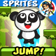 Panda Jump Game Character Sprites 15 - GraphicRiver Item for Sale