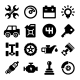 Auto Repair Service Icons - GraphicRiver Item for Sale