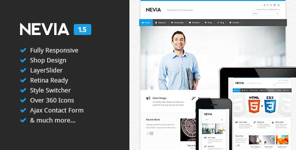 Nevia – Responsive HTML5 Template
