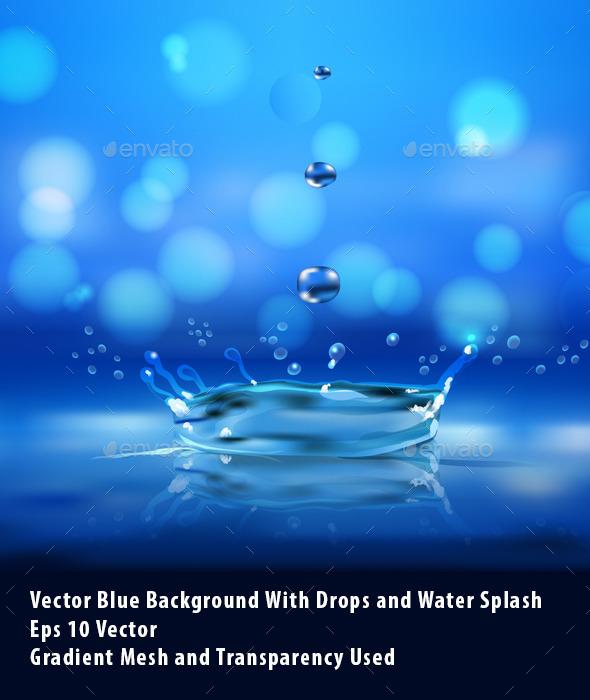 Water Splash - Organic Objects Objects