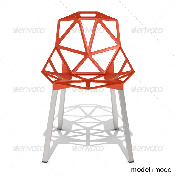 Magis Chair_One - 3DOcean Item for Sale