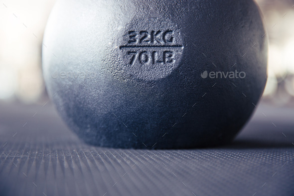 Kettle ball - Stock Photo - Images