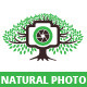 Natural Photo Logo Template - GraphicRiver Item for Sale