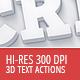 Hi-Res 3D Actions - 300 DPI - GraphicRiver Item for Sale