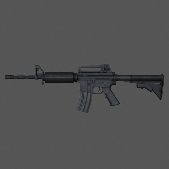 M4 Carbine - 3DOcean Item for Sale