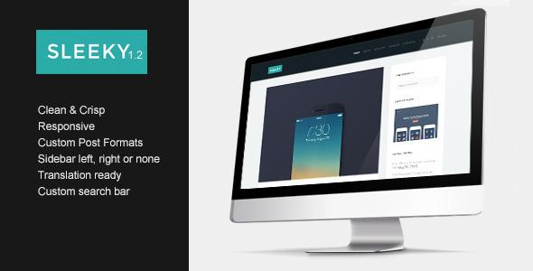 Sleeky – Clean Sidebar Style Theme