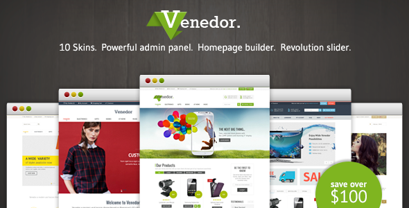 Venedor – Responsive Prestashop Theme