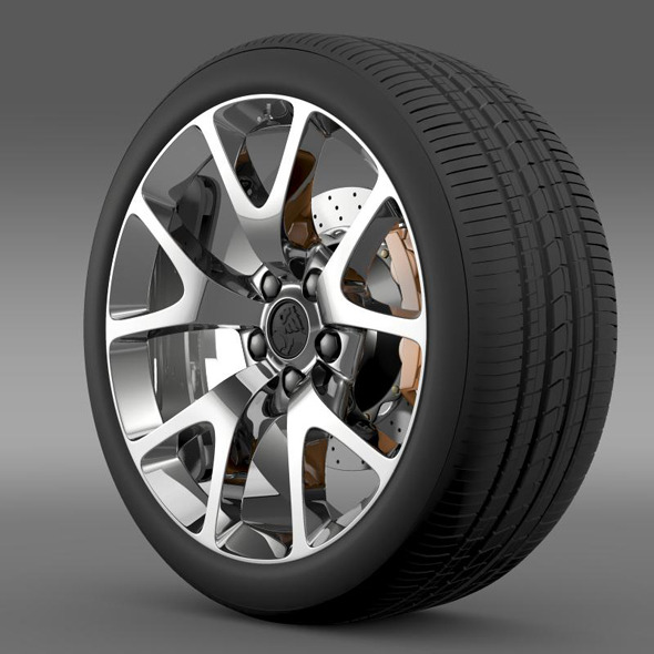 Holden Insignia VXR wheel - 3DOcean Item for Sale