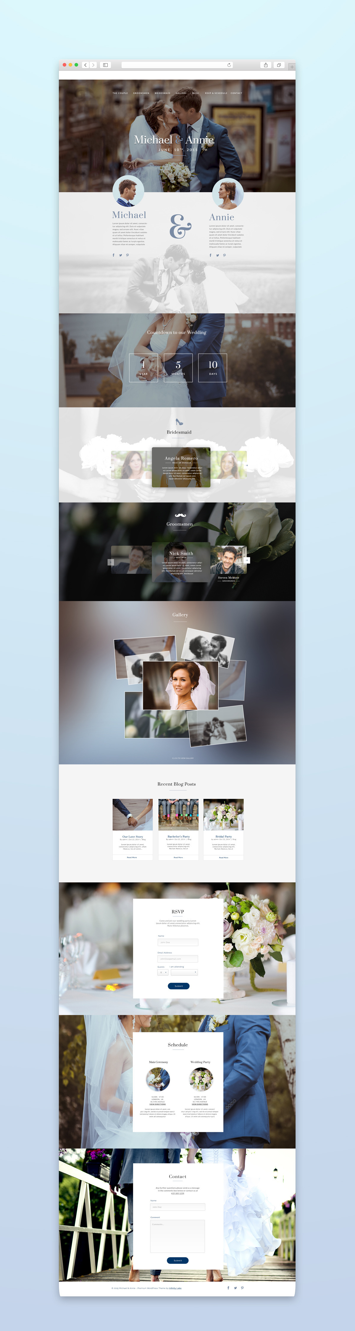 Matrimony - Responsive One Page Wedding Template by infinity-labs ...