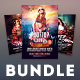 Sexy Party Flyer Bundle - GraphicRiver Item for Sale