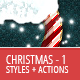 Christmas Actions & Styles - Mega Bundle - 1