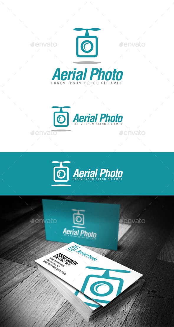 Aerial Photo Logo - Objects Logo Templates