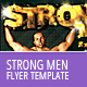 Strong Men Flyer Template - GraphicRiver Item for Sale