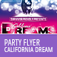 California Dream Flyer Template - GraphicRiver Item for Sale