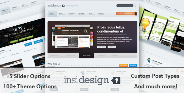 Free Download Insidesign WP Theme Nulled Latest Version