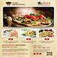 Food & Menu Flyers Bundle - GraphicRiver Item for Sale