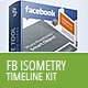 Facebook Timeline Kit - Isometry - GraphicRiver Item for Sale