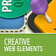 Creative Banner And Web Elements - GraphicRiver Item for Sale