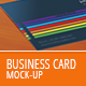 Realistic Business Card Mockup - GraphicRiver Item for Sale