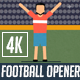 Flat Football (Soccer) Opener - VideoHive Item for Sale