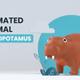 3D Animated Animal - Hippopotamus