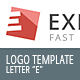 "Letter ""E"" - Logo Template - GraphicRiver Item for Sale"