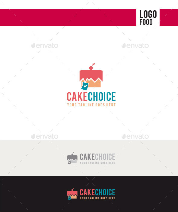Cake Choice Logo - Food Logo Templates