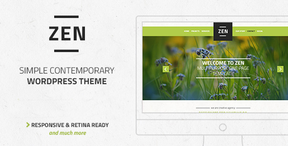 Zen – Multi-Purpose OnePage LayersWP Child Theme