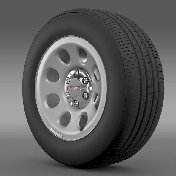 GMC Yukon Police wheel - 3DOcean Item for Sale