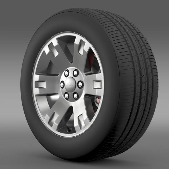 GMC Yukon XL wheel - 3DOcean Item for Sale