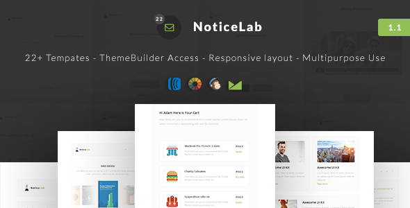 NoticeLab – Email Notification Templates