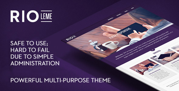 RioLeme – Responsive Multi-Purpose WordPress Theme