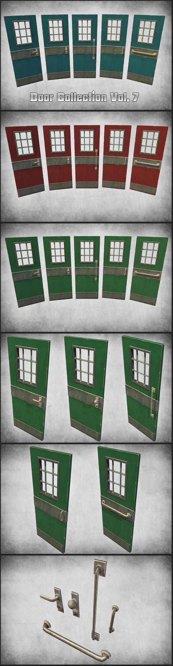 Door Collection Vol. 7 - 3DOcean Item for Sale