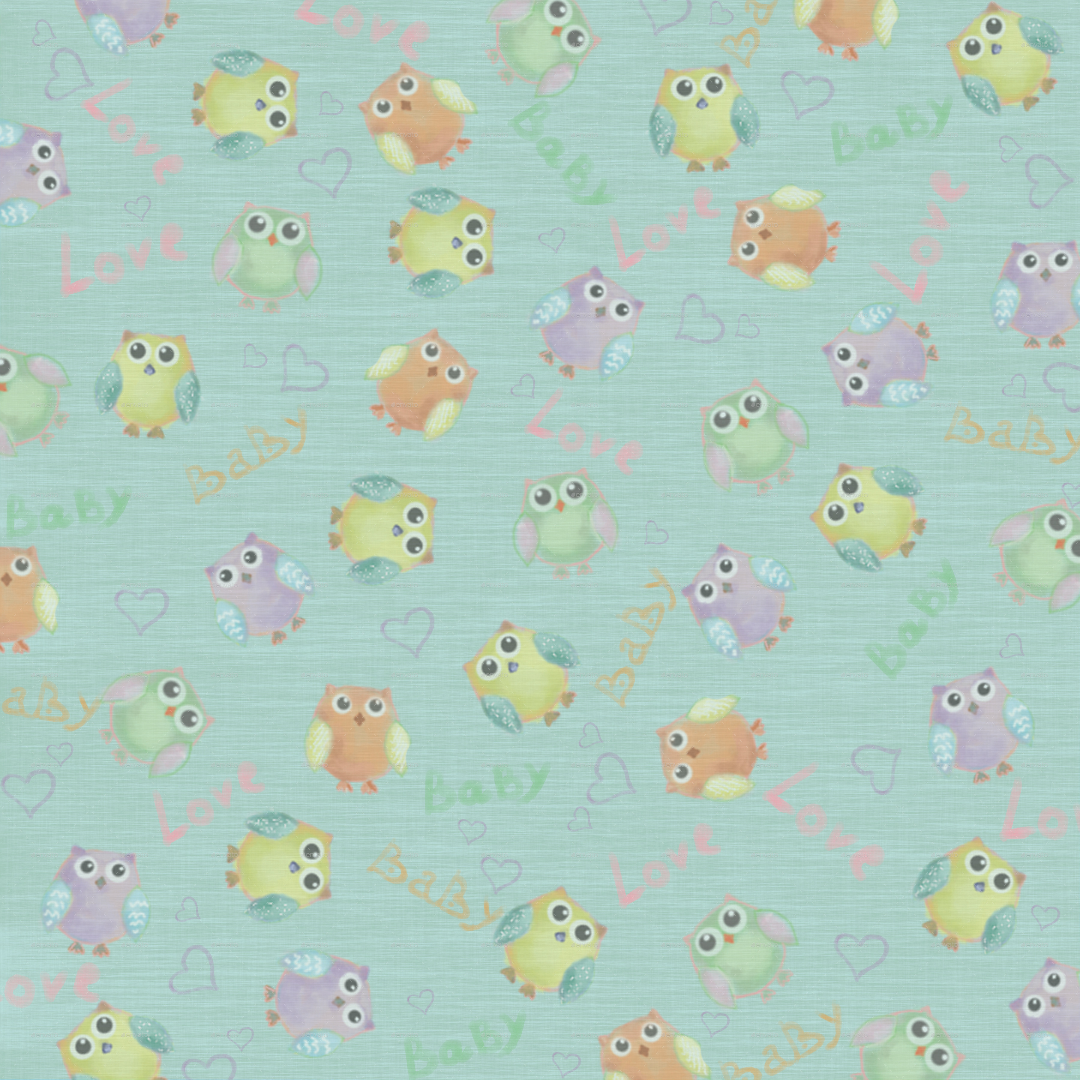 set of 4 baby backgrounds by kaimen2011 graphicriver