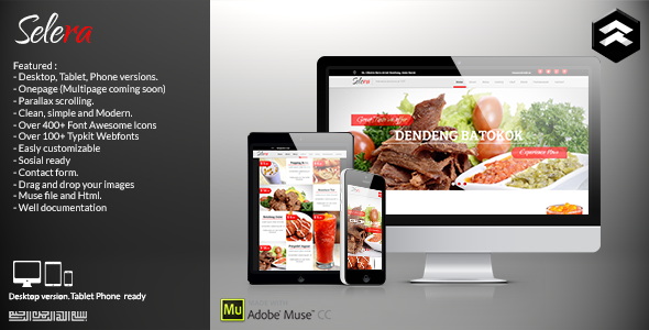 Selera – Restaurant, Cafe & Bar Muse Template