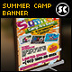 Kids Summer Camp Banner - GraphicRiver Item for Sale