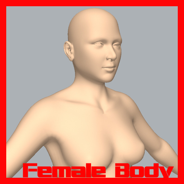 Female Body - 3DOcean Item for Sale