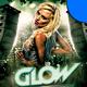 Glow Club Flyer Template