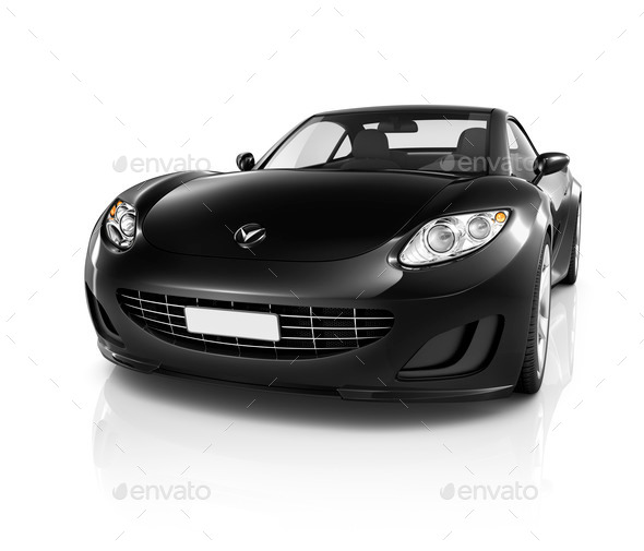 Illustration of Transportation Technology Car Performance Concep - Stock Photo - Images