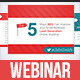 Top 5 Webinar Presentation - GraphicRiver Item for Sale