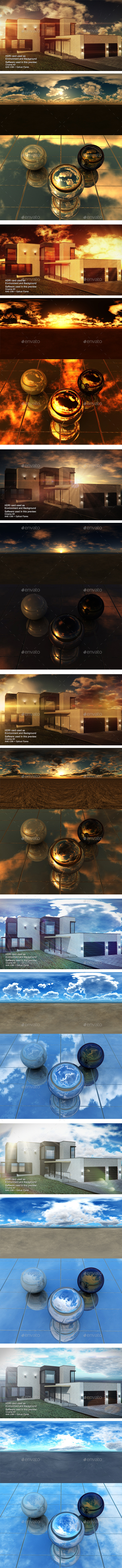 HDRI Pack - Desert vol2 - 3DOcean Item for Sale