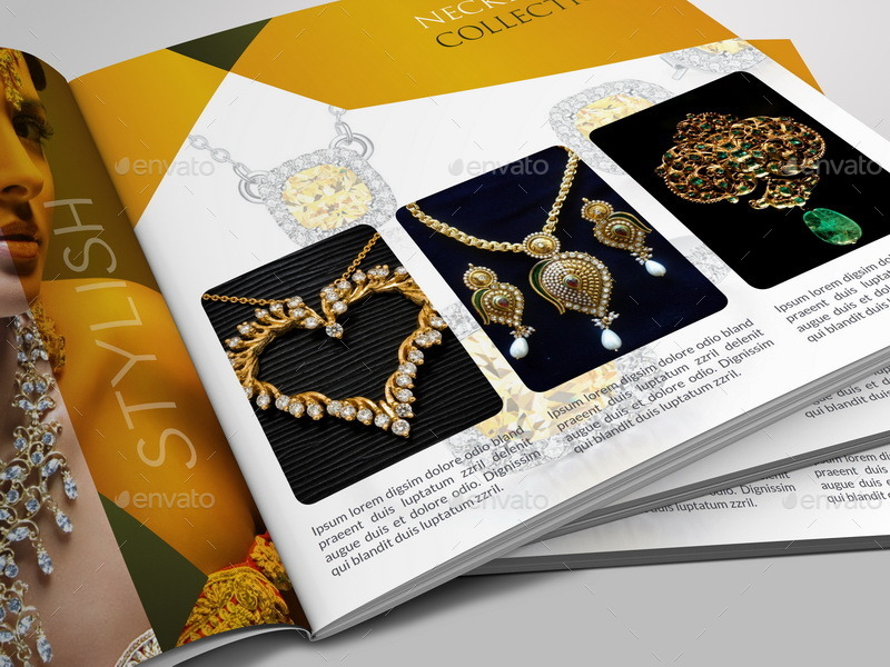 Jewelry And Accessories Catalog   Pages By Owpictures  Graphicriver