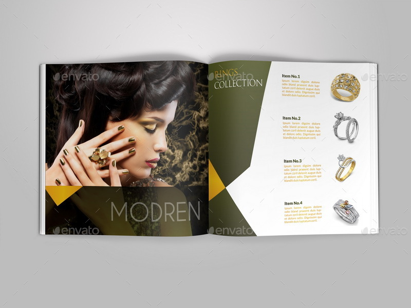 Jewelry And Accessories Catalog - 12 Pages By Owpictures