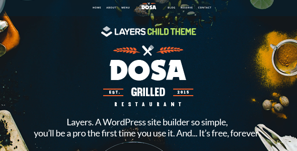 DOSA – LayersWP Multipurpose Child Theme