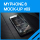 myPhone 6 Mock-Up v03 - GraphicRiver Item for Sale