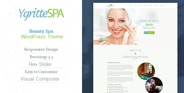 Ygritte Spa - Beauty Salon WordPress Theme - Health & Beauty Retail