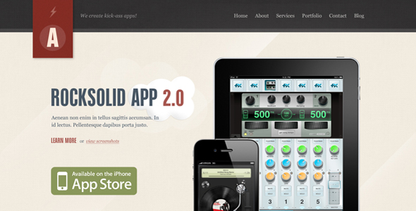 Free Download Rocksolid - App Showcase Agency Nulled Latest Version