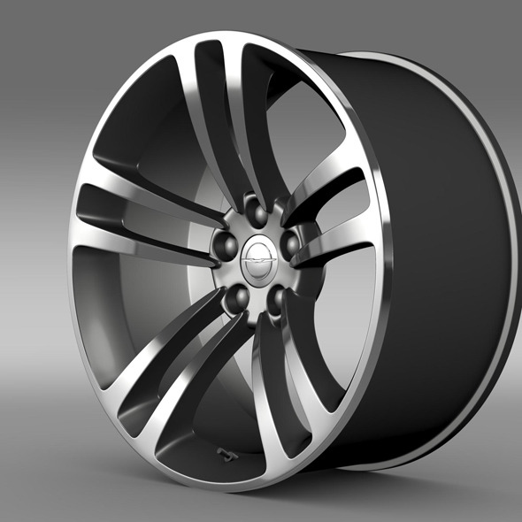 Chrysler 300 SRT8 Core  rim - 3DOcean Item for Sale