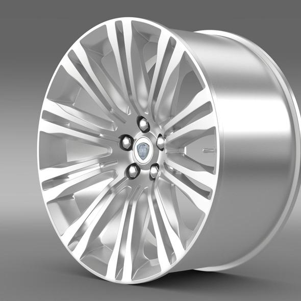 Lancia Thema 2014  rim - 3DOcean Item for Sale